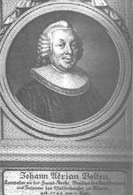 Chronist Johann Adrian Bolten